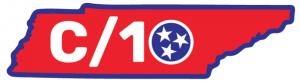 Red C/10 sticker