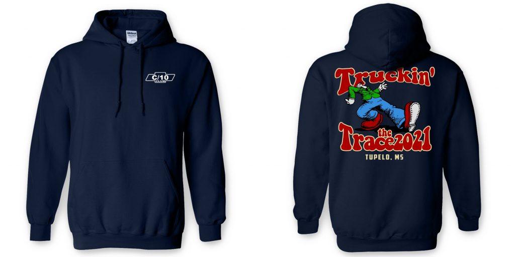 Truckin the Trace hoodies